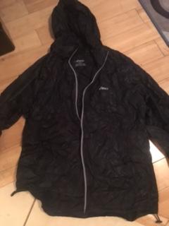 jacket opened